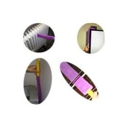 Plumeau microfibre malleable
