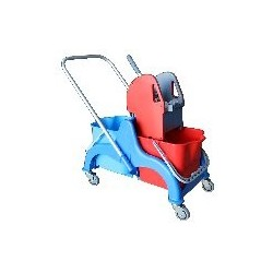 Chariot Faubert 2x22L + Presse Vertical