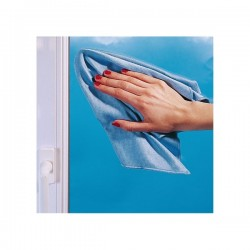 Chiffon microfibre, spécial vitres