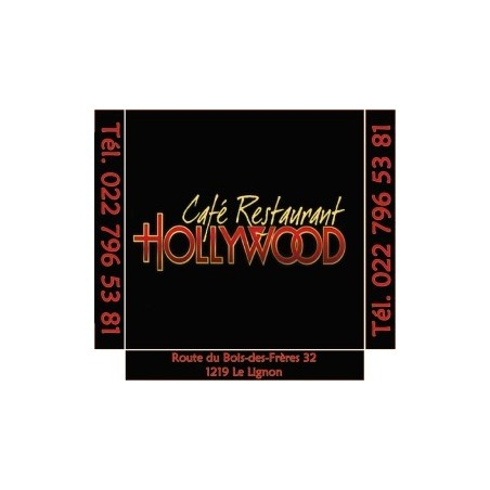 Boite pizza Hollywood 32*32*04