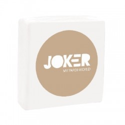 Serviette papier blanc 2 plis 40*40