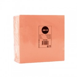 Serviette papier couleur saumon 2 plis 40*40