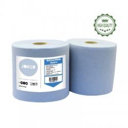 Rouleau industriel Eco Gaufré  2 plis bleu