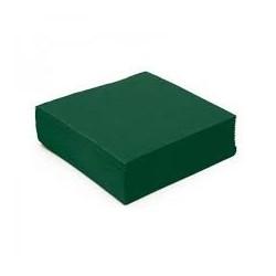 Serviette papier couleur verte 2 plis 40*40